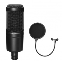 Audio Technica AT 2020 (+ Free Pop Filter)