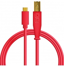 DJ TechTools USB-C Chroma Cable Red