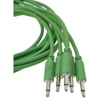Erica Synths Eurorack Patch Cables 0.2m (5 pcs, Green)
