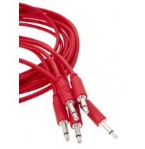Erica Synths Eurorack Patch Cables 0.1m (5 pcs, Red)