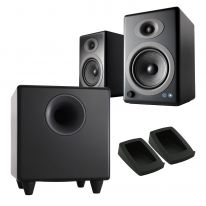 Audioengine A5+ Wireless + S8 Sub + Pads Bundle