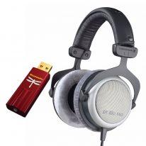 Beyerdynamic DT 880 Pro + AudioQuest Dragonfly Red Bundle