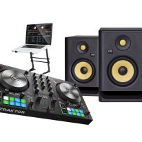 Native Instruments S2 MK3 + KRK Rokit RP5 G4 + Laptop Stand Bundle