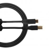 UDG Ultimate Audio Cable USB 2.0 C-B (Black, Straight, 1.5m)