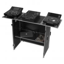 UDG Ultimate Fold Out DJ Table Silver Plus (Wheels) (U92049SL)