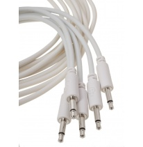 Erica Synths Eurorack Patch Cables 0.6m (5 pcs, White)