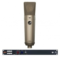Warm Audio WA-87 Condenser Microphone + WA73 1 Channel British Mic Pre
