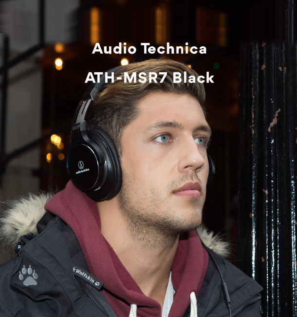 Audio Technica ATH-MSR7 Black